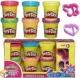 Блестящая коллекция. Набор пластилина из 6 баночек Play-Doh